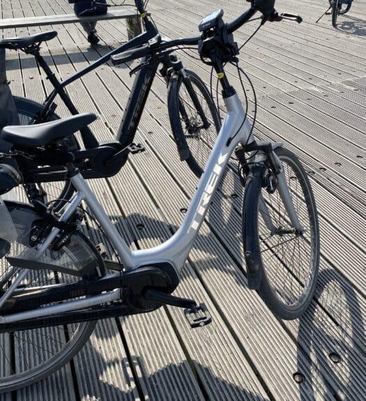 elektrische fiets Trek district 3+